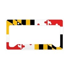 Maryland State Flag License Plate Holder