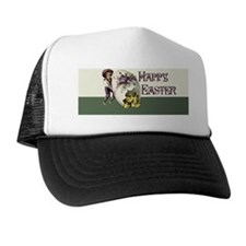 Vintage Easter Trucker Hat