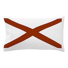 Alabama State Flag Pillow Case
