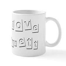 I Love Jarrett Mug
