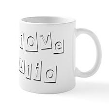 I Love Julio Small Mug