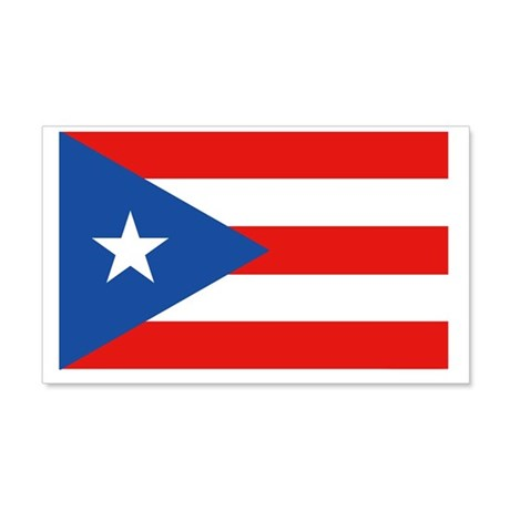 Puerto Rico - PR 20x12 Wall Decal
