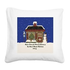 ornament Square Canvas Pillow