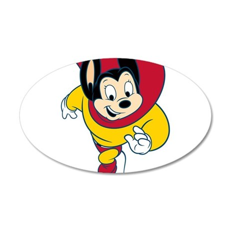 Mighty Mouse Wall Decal