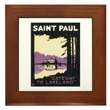 Cute Saint paul saints Framed Tile