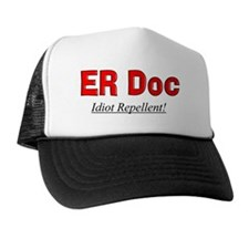 ER doc flask Trucker Hat