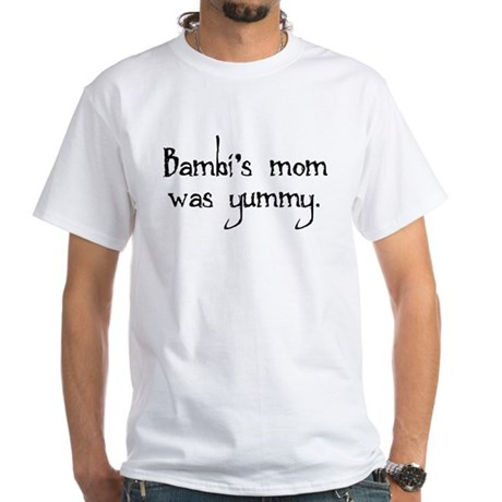 Bambi's Mom White T-Shirt
