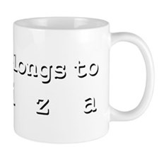 My Heart Belongs To Aliza Mug