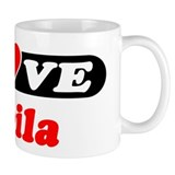 I Love Sheila Coffee Mug