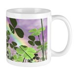 Good Luck Shamrock Clover Rainbow Coffee Mug
