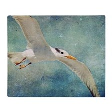 Seagull Throw Blanket