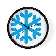 Snowflake / Copo De Nieve / Schneeflock Wall Clock