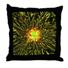 Neurosphere culture Throw Pillow