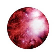 "Orion nebula 3.5"" Button"