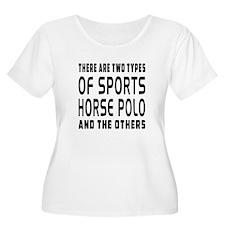 Horse Polo Designs T-Shirt