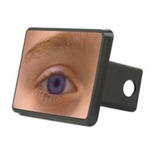 Pixellated eye Hitch Cover