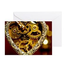 Clockwork Heart Greeting Card
