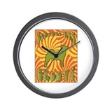 Groovy Buhunds Wall Clock