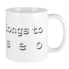 My Heart Belongs To Eliseo Mug