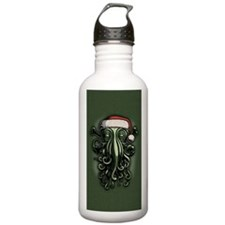 cthulhu-claus-OV Water Bottle