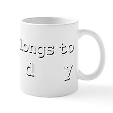 My Heart Belongs To Jody Mug