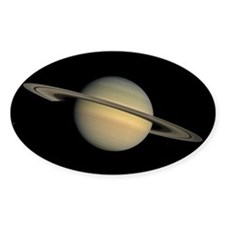 Saturn Rectangle Decal