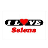I Love Selena Postcards (Package of 8)