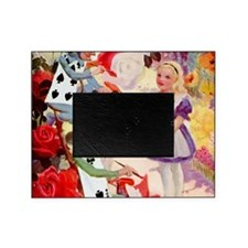 Alice Painting Roses SQ Picture Frame