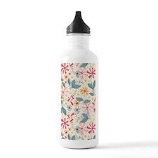 FlowerBotanical_Cream_ Water Bottle