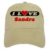 I Love Sandra Hat