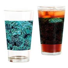 Gypsum crystals, SEM Drinking Glass