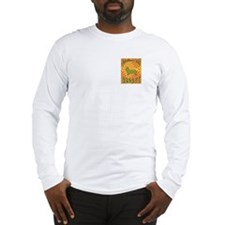 Groovy Cardigan Long Sleeve T-Shirt
