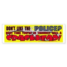 """COP BUFF SHOP"" Bumper Bumper Sticker"