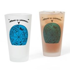 IT Wheel of Answers Drinking Glass
