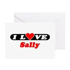 I Love Sally Greeting Cards (Pk of 10)