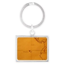 The Galapagos Islands seen on o Landscape Keychain