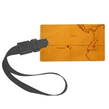 The Galapagos Islands seen on on Luggage Tag