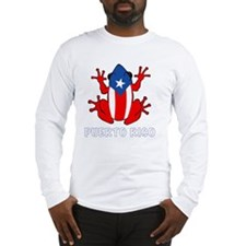Puerto Rico - PR - Coqui Long Sleeve T-Shirt