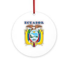 Ecuador Products v1 Ornament (Round)
