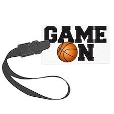 Game On Basketball Luggage Tag