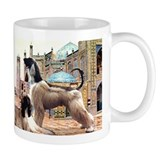 Afghan Hounds in Afghanistan Small Mug