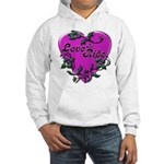 Biker Hooded Sweatshirt