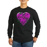 Biker Long Sleeve Dark T-Shirt