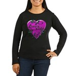 Biker Women's Long Sleeve Dark T-Shirt