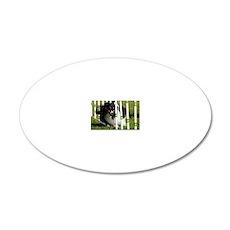 Shetland Sheepdog Jackpot 20x12 Oval Wall Decal