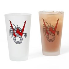 Wyatt Smith Logo Drinking Glass