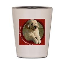 Golden Retriever puppy Shot Glass