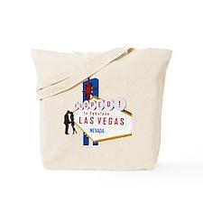 Eloped in Las Vegas Tote Bag