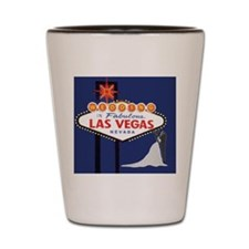 Wedding In Las Vegas Shot Glass