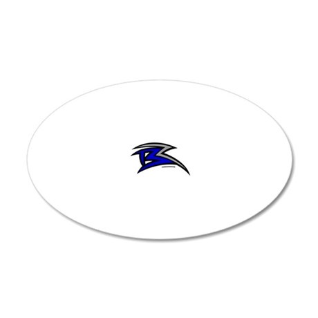 br 20x12 Oval Wall Decal